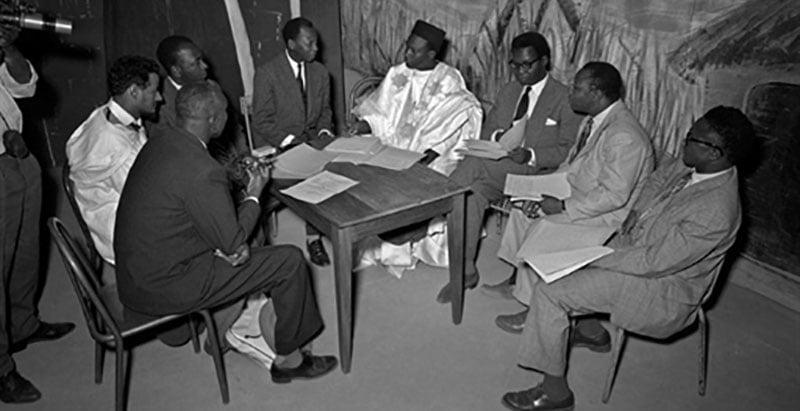 Conférence fédéraliste du 28 au 29 décembre 1958 pour la création de la fédération du Mali