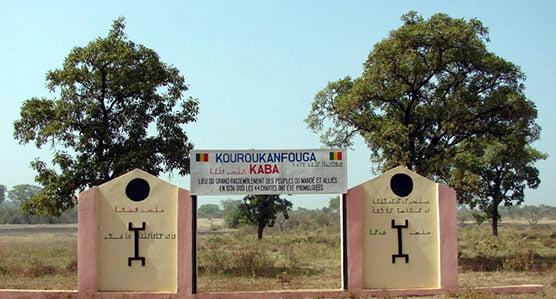 Stèle de la charte du Kouroukan Fouga de l'empire du Mali
