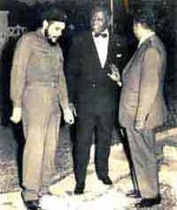 """Ernesto """"Che"""" Guevara la figure de prou des mouvements de libération nationale"""