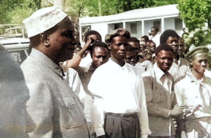 Dernière image de Modibo Keita