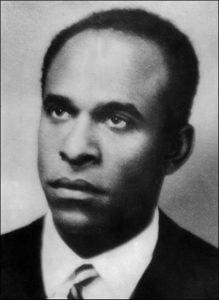 Frantz Fanon un militant des mouvements de libération nationale.