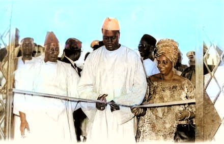 Modibo Keita inaugure une usine au Mali