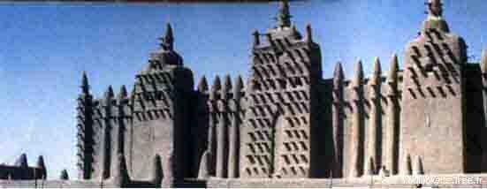 La mosquée de Djenné créée dans l'empire du Mali