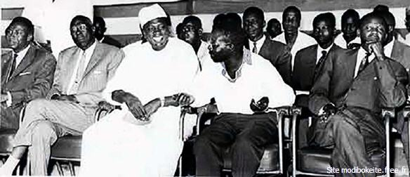 Les dirigeants de la fédération du Mali